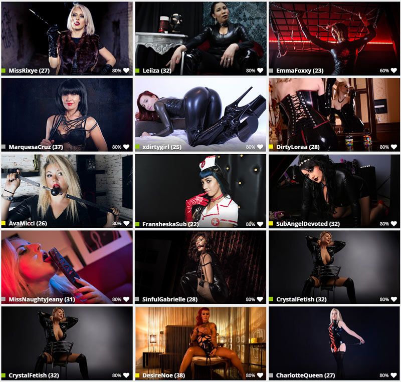 latex live cams