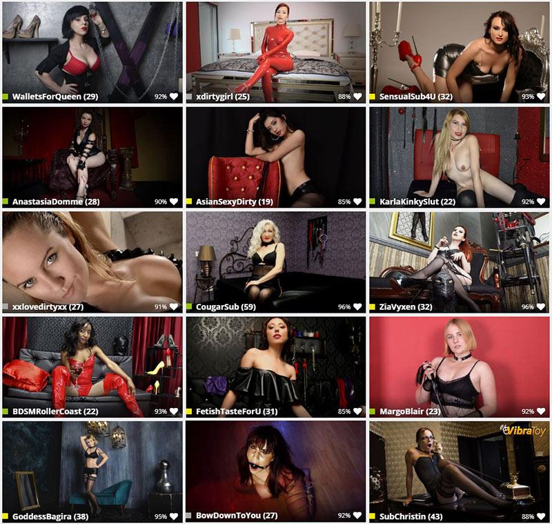 click here for currently live fetish web vam girls
