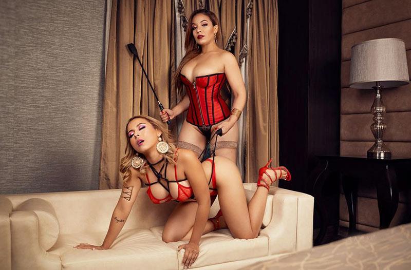 Lesbian Bondage Webcam