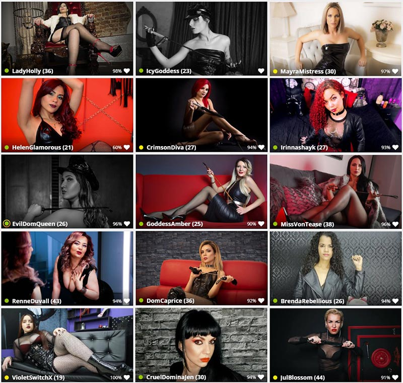 Humiliation Chat Femdom Hosts