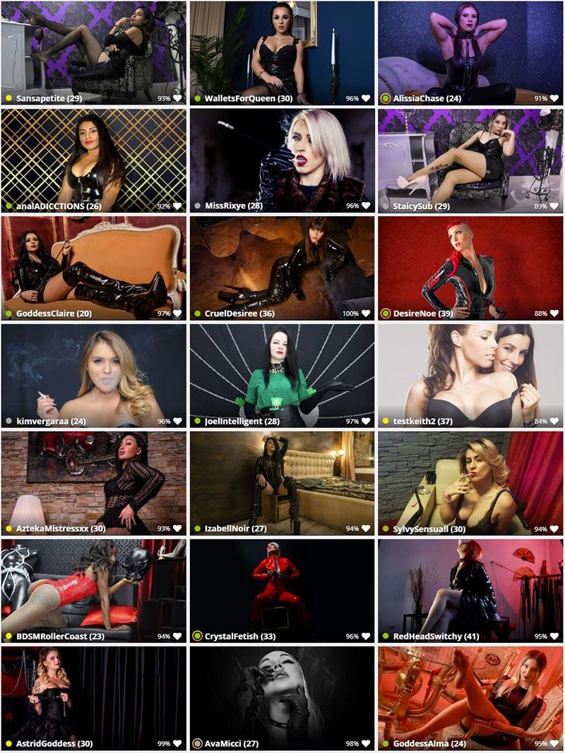 Hot fetish live models