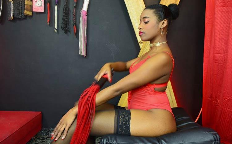 video chat with ebony Goddess